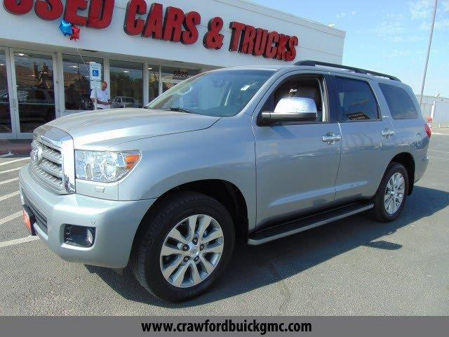 2013 toyota sequoia limited 4x4 limited 4dr suv ffv for sale in el paso texas classified. Black Bedroom Furniture Sets. Home Design Ideas