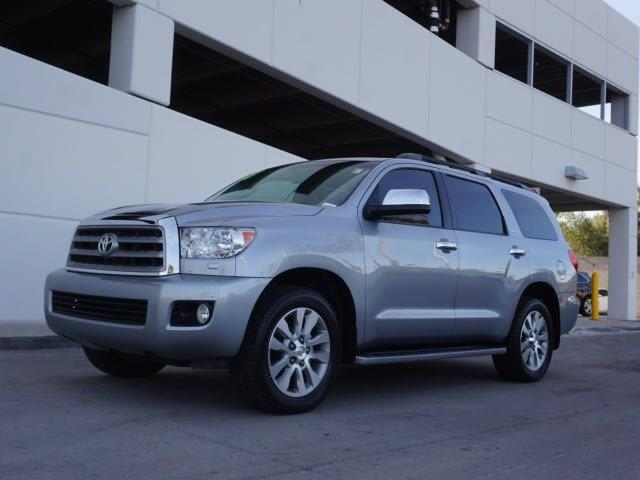 2013 Toyota Sequoia Limited 4x4 Limited 4dr Suv Ffv For