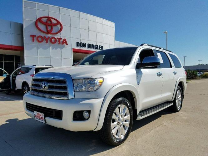 2013 toyota sequoia platinum 4x2 platinum 4dr suv for sale in temple texas classified. Black Bedroom Furniture Sets. Home Design Ideas