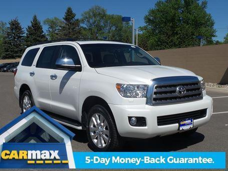 2013 toyota sequoia platinum 4x4 platinum 4dr suv ffv for sale in minneapolis minnesota. Black Bedroom Furniture Sets. Home Design Ideas