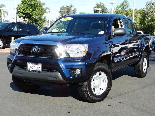 2013 toyota tacoma 4x2 prerunner v6 4dr double cab 5 0 ft sb 5a for sale in escondido. Black Bedroom Furniture Sets. Home Design Ideas