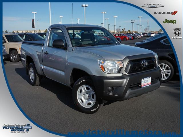 2013 toyota tacoma base 4x2 base 2dr regular cab 6 1 ft sb 5m for sale in victorville. Black Bedroom Furniture Sets. Home Design Ideas