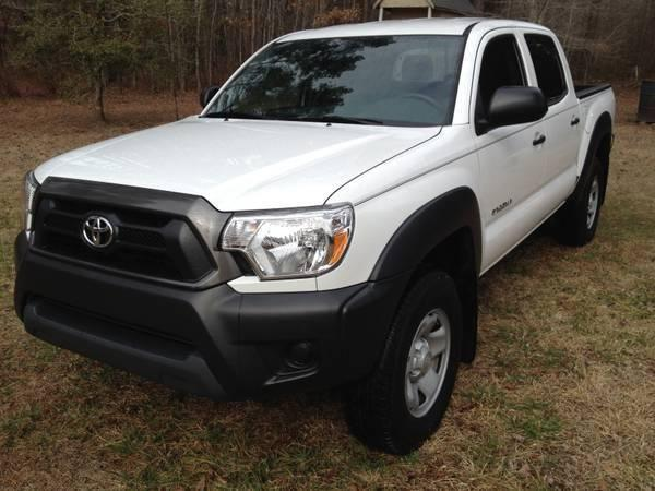 2013 Toyota Tacoma Prerunner 4cyl Double Crew Cab 4door