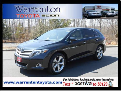 2013 toyota venza crossover awd limited for sale in warrenton virginia classified. Black Bedroom Furniture Sets. Home Design Ideas
