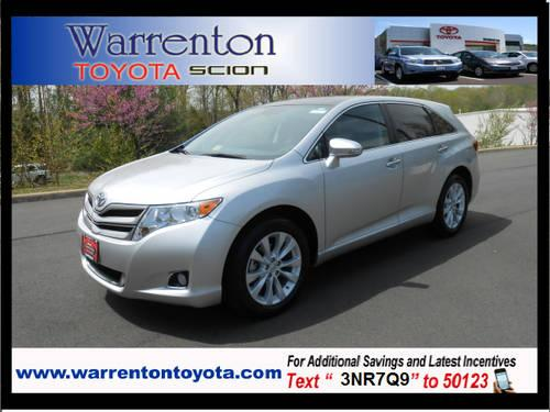 2013 toyota venza crossover awd xle for sale in warrenton. Black Bedroom Furniture Sets. Home Design Ideas
