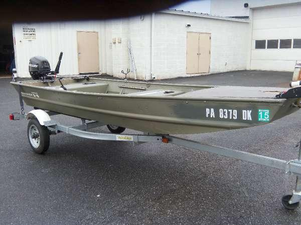 2013 tracker topper 1436 riveted jon for sale in cove for Tracker outboard motor parts