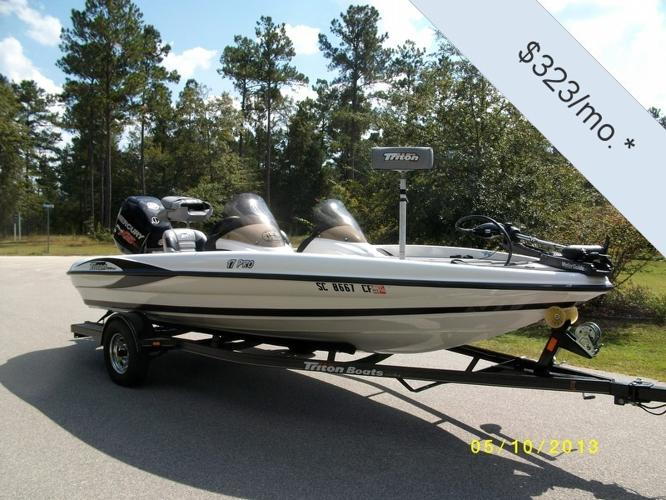 Bass boat new and used boats for sale in south carolina for Bass pro fishing boats