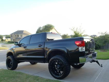 "2013 TUNDRA CREWMAX 5.7 lifted 24"" wheels 38"" tires 4x4 ..."