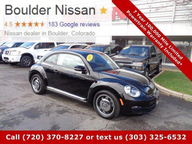2013 Volkswagen Beetle 2.5L 2.5L 2dr Hatchback 6A