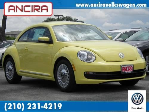 2013 volkswagen beetle 2 5l yellow ancira vw 210 231 4219. Black Bedroom Furniture Sets. Home Design Ideas