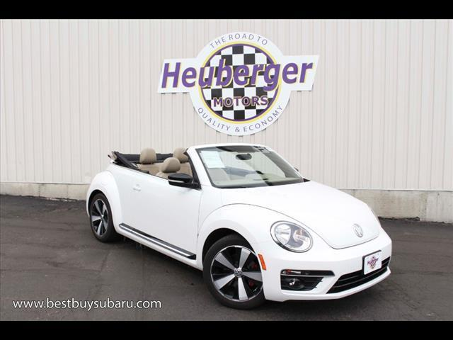 2013 Volkswagen Beetle Turbo Turbo 2dr Convertible 6A