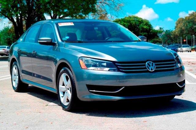 2013 volkswagen passat se pzev se pzev 4dr sedan 5m for sale in miami florida classified. Black Bedroom Furniture Sets. Home Design Ideas