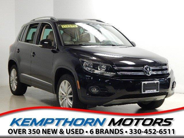 2013 Volkswagen Tiguan S 4Motion AWD S 4Motion 4dr SUV