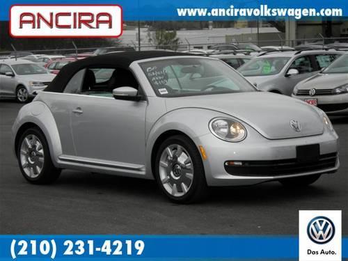 2013 Vw Beetle Convertible Nav For Sale 210 231 4219