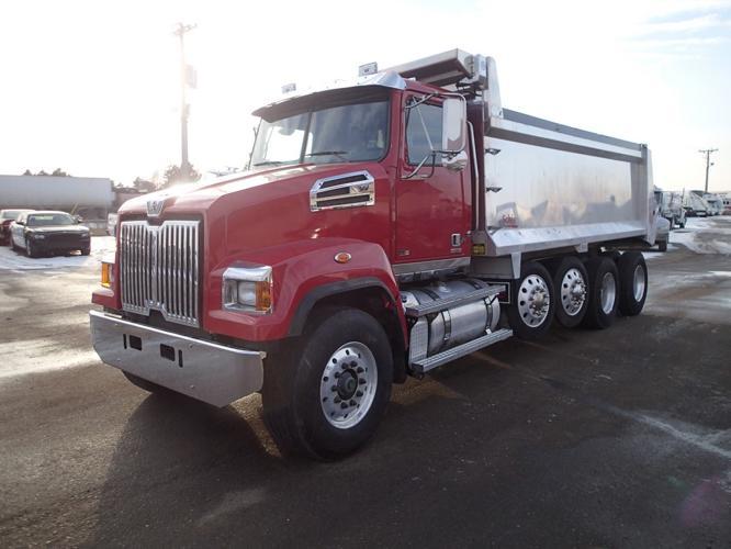 similiar western star trucks on craigslist keywords western star w4700sf quad axle dump truck for in rice minnesota