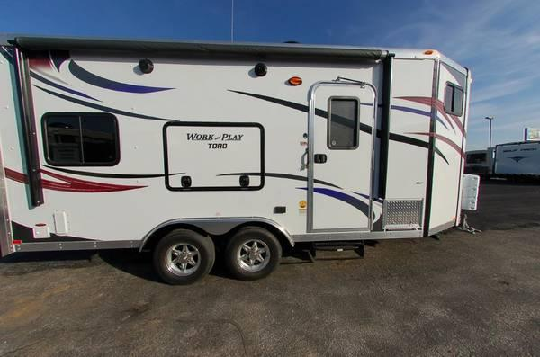 2013 Work And Play Ultra Lite 21vfb Toy Hauler Travel