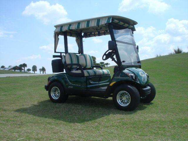 2013 yamaha golf cart gas for sale in the villages for Yamaha golf cart dealers in florida