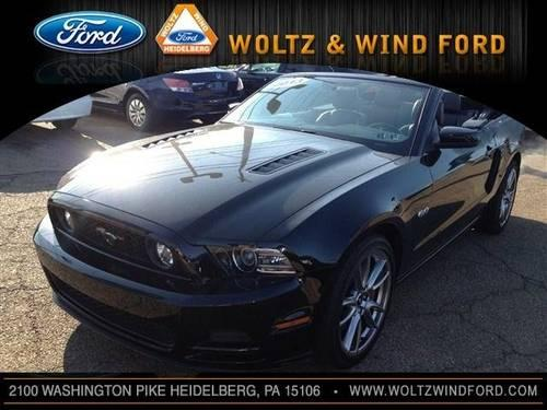 2013 ford mustang convertible gt premium for sale in carnegie pennsylvania classified. Black Bedroom Furniture Sets. Home Design Ideas