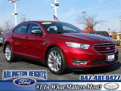 2013 ford taurus sedan limited for sale in huntley illinois. Cars Review. Best American Auto & Cars Review