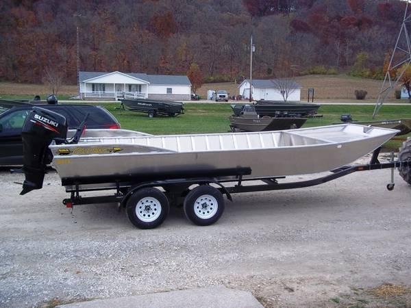 2014 20 u0026 39  oquawka 2072 flat bottom flat bow for sale in