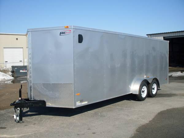2014 7x20 Enclosed Cargo Trailer For Sale In Middlebury