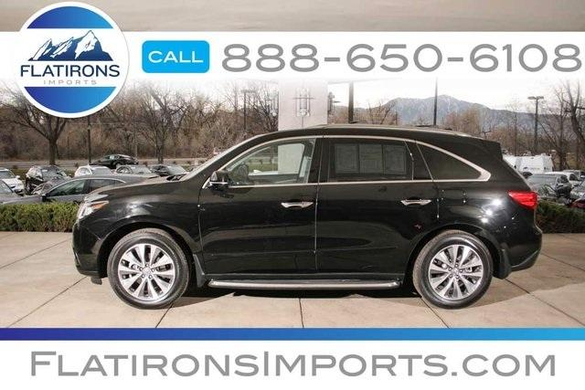 2014 acura mdx awd base 4dr suv w technology package for sale in boulder colorado classified. Black Bedroom Furniture Sets. Home Design Ideas