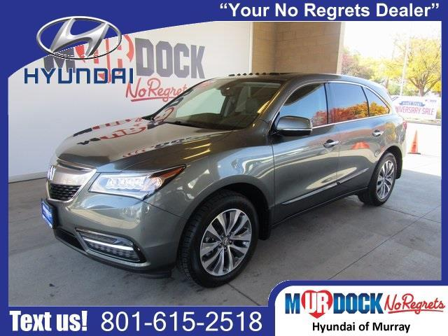 2014 acura mdx sh awd w tech sh awd 4dr suv w technology package for sale in salt lake city. Black Bedroom Furniture Sets. Home Design Ideas