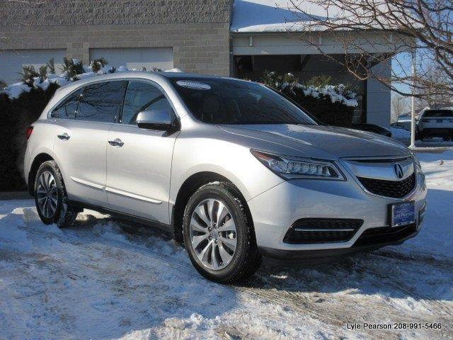 2014 acura mdx sh awd w tech sh awd 4dr suv w technology package for sale in boise idaho. Black Bedroom Furniture Sets. Home Design Ideas