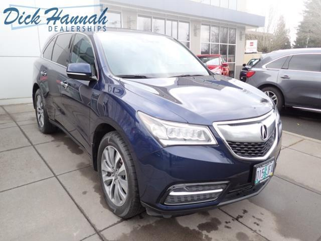 2014 acura mdx w tech 4dr suv w technology package for sale in portland oregon classified. Black Bedroom Furniture Sets. Home Design Ideas