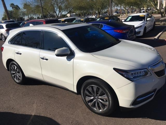 2014 acura mdx w tech 4dr suv w technology package for sale in peoria arizona classified. Black Bedroom Furniture Sets. Home Design Ideas