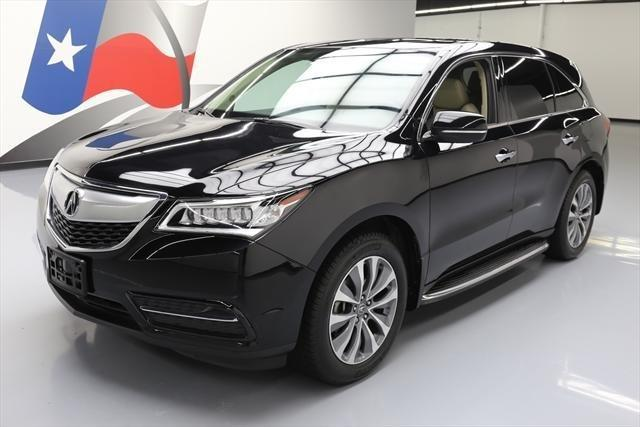 2014 acura mdx w tech 4dr suv w technology package for sale in houston texas classified. Black Bedroom Furniture Sets. Home Design Ideas