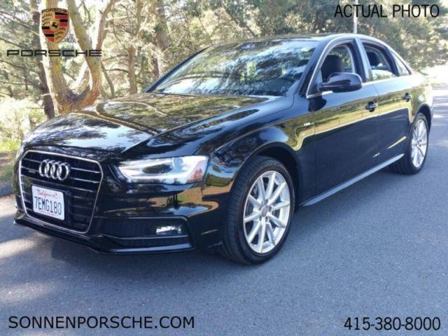 2014 audi a4 2 0t premium plus for sale in mill valley california classified. Black Bedroom Furniture Sets. Home Design Ideas