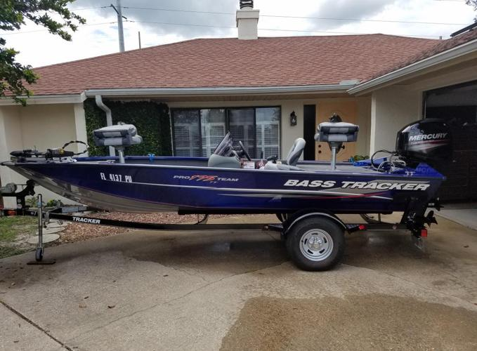 2014 Bass tracker pro 175 Tf with trailer