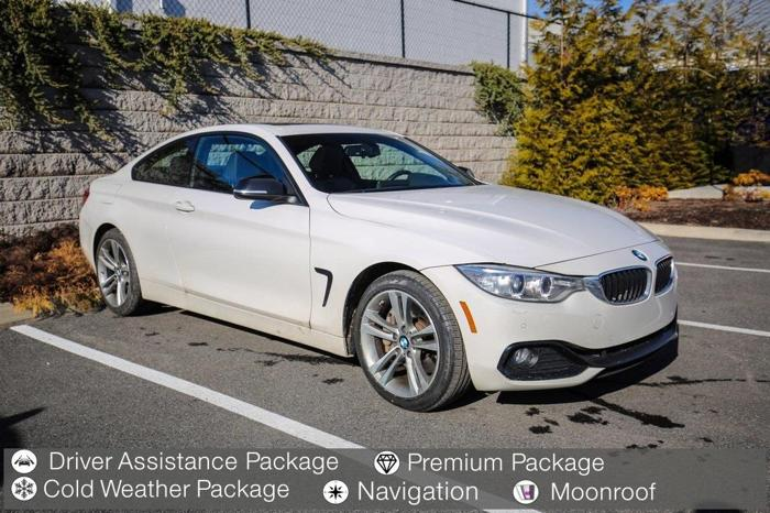 2014 bmw 4 series 435i xdrive awd 435i xdrive 2dr coupe for sale in ridgefield connecticut. Black Bedroom Furniture Sets. Home Design Ideas