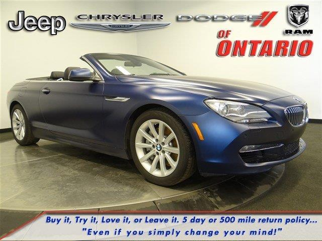 2014 BMW 6 Series 640i 640i 2dr Convertible