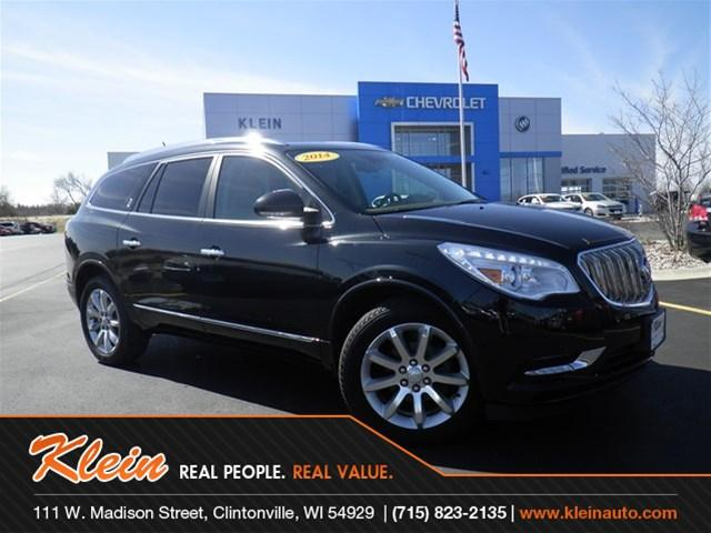 2014 Buick Enclave Premium Clintonville Wi For Sale In