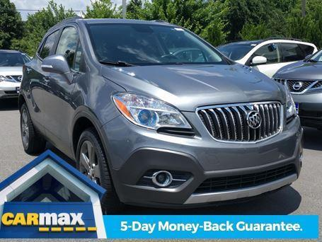 2014 buick encore leather awd leather 4dr crossover for sale in raleigh north carolina. Black Bedroom Furniture Sets. Home Design Ideas