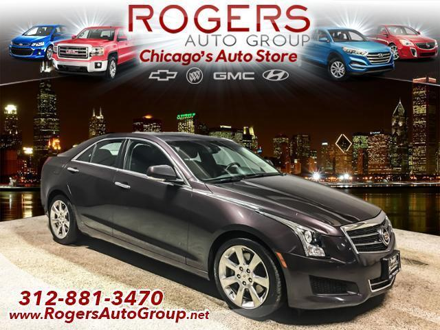 2014 cadillac ats 2 0t luxury 2 0t luxury 4dr sedan for sale in chicago illinois classified. Black Bedroom Furniture Sets. Home Design Ideas