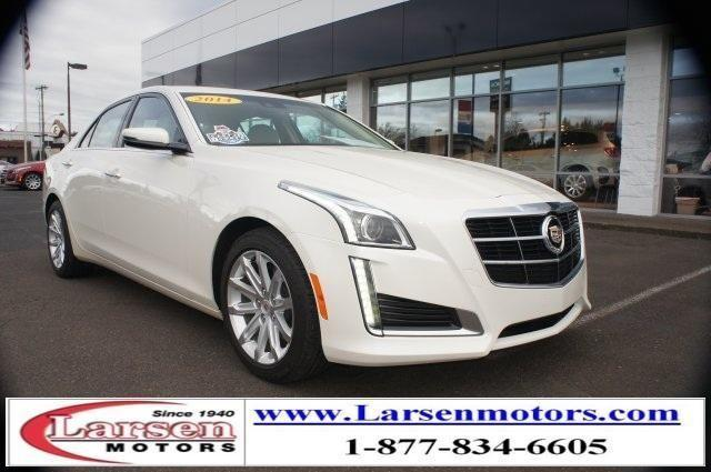 2014 cadillac cts 4d sedan 3 6l luxury for sale in for Larsen motors mcminnville oregon