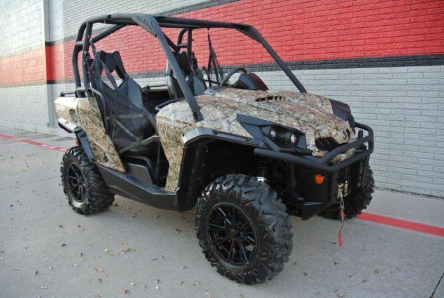 2014 can am commander xt 800 camo for sale in dallas texas classified. Black Bedroom Furniture Sets. Home Design Ideas