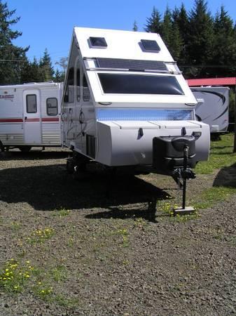 2014 chalet arrowhead folding trailer for sale in