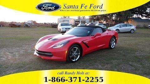 2014 CHEVROLET CORVETTE STINGRAY 2 DOOR CONVERTIBLE