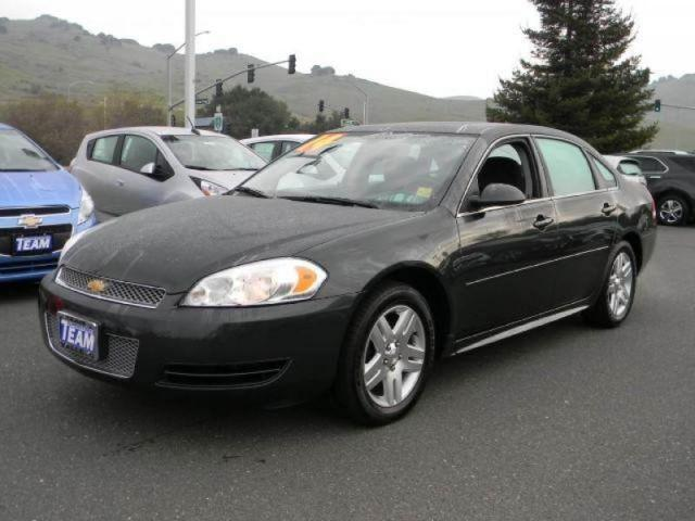 2014 chevrolet impala limited lt for sale in vallejo. Black Bedroom Furniture Sets. Home Design Ideas
