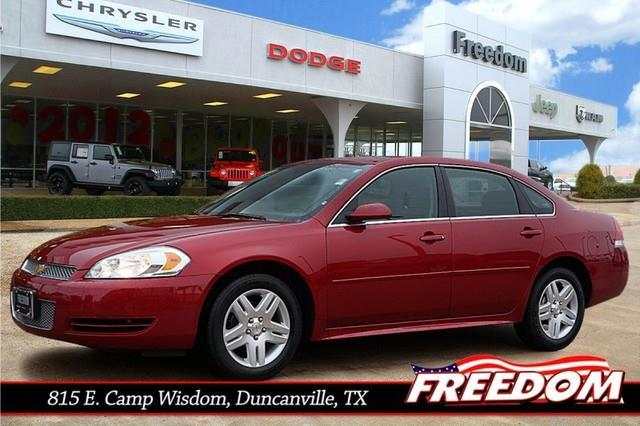 2014 chevrolet impala limited lt duncanville tx for sale. Black Bedroom Furniture Sets. Home Design Ideas