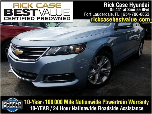 2014 Chevrolet Impala LT LT 4dr Sedan w 2LT for Sale in