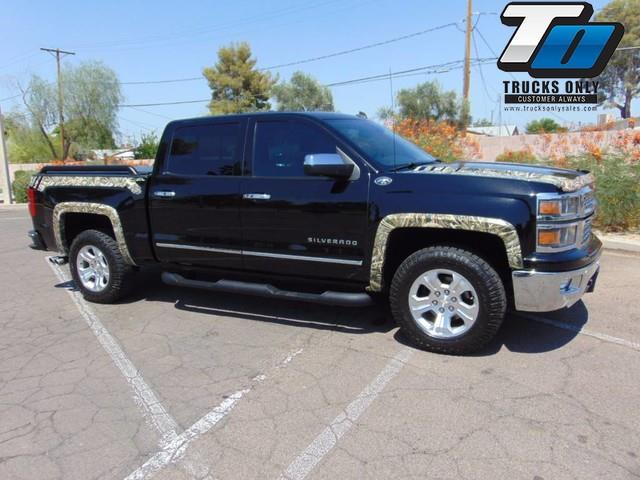 2014 chevrolet silverado 1500 ltz 4x4 ltz 4dr crew cab 5 8 ft sb for sale in mesa arizona. Black Bedroom Furniture Sets. Home Design Ideas