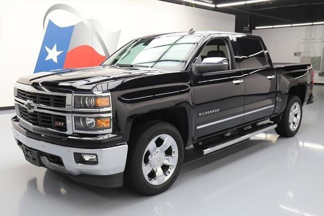 2014 chevrolet silverado 1500 ltz 4x4 ltz 4dr crew cab 5 8 ft sb for sale in houston texas. Black Bedroom Furniture Sets. Home Design Ideas