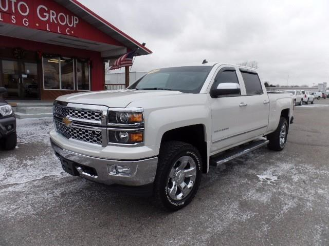 2014 chevrolet silverado 1500 ltz 4x4 ltz 4dr crew cab 6 5 ft sb for sale in mount pleasant. Black Bedroom Furniture Sets. Home Design Ideas