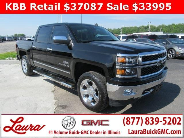 2014 chevrolet silverado 1500 ltz 4x4 ltz 4dr crew cab 6 5 ft sb w z71 for sale in collinsville. Black Bedroom Furniture Sets. Home Design Ideas