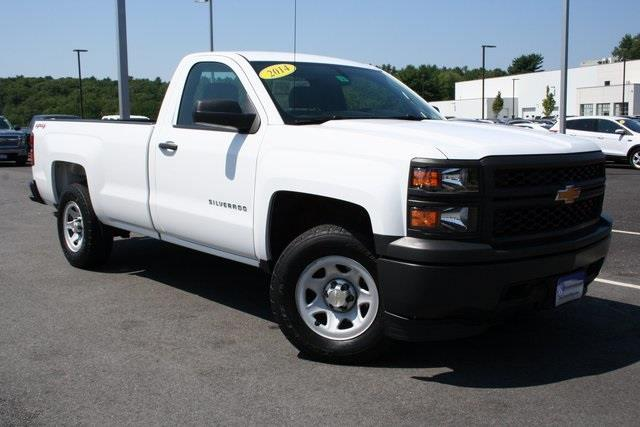 2014 chevrolet silverado 1500 work truck 4x4 work truck 2dr regular cab 6 5 ft sb w 1wt for. Black Bedroom Furniture Sets. Home Design Ideas